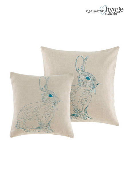 Jänis cushion cover made of pure linen
