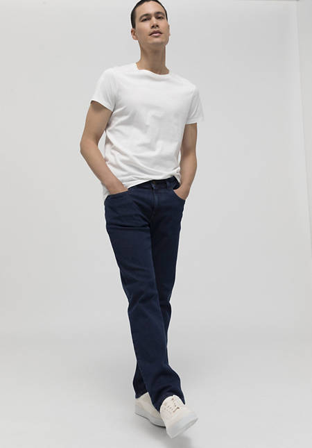 Jeans Ben Straight Fit bed recycling made of organic denim