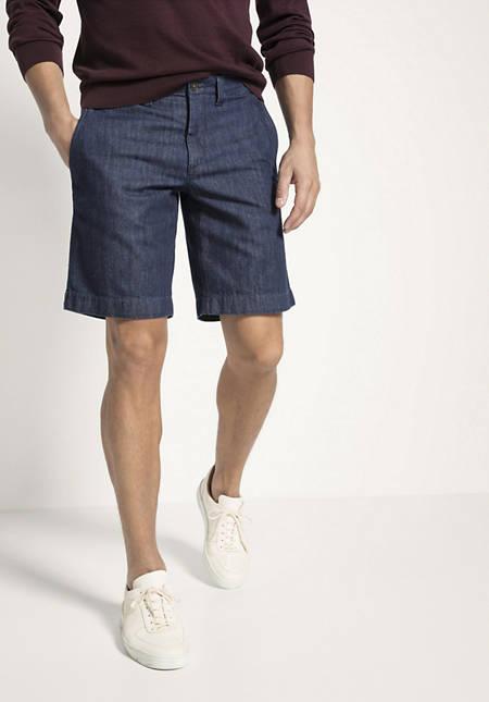 Jeans Bermudas aus reinem Bio-Denim