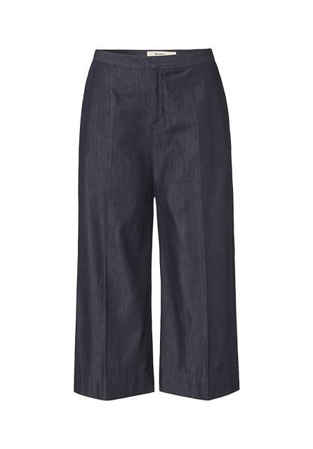 Jeans Culotte aus reinem Bio-Denim