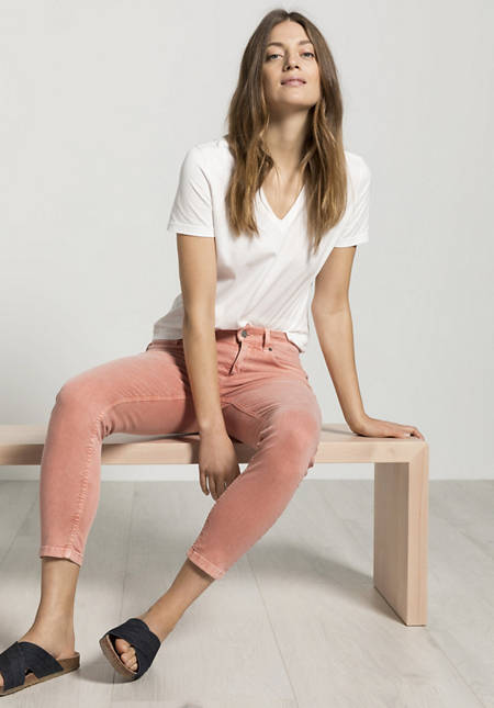 """Jeans Lina Skinny Fit """"Mineral Dye"""" made of organic denim"""