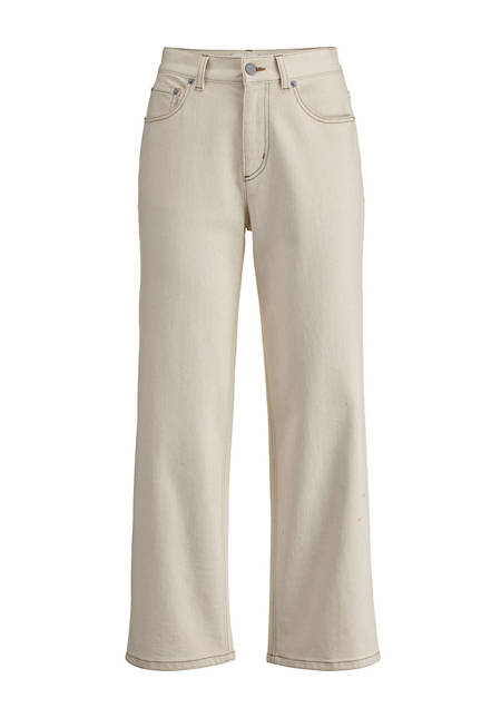 Jeans barrel leg made from organic denim