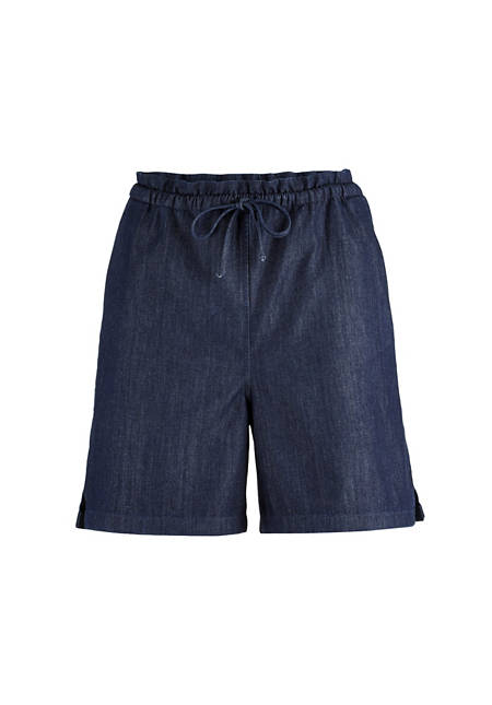 Jeans shorts made from pure organic denim