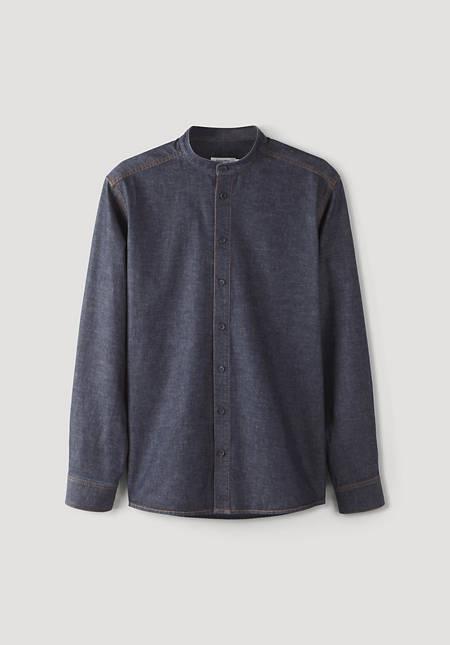 Jeanshemd Comfort Fit aus Bio-Baumwolle mit Kapok