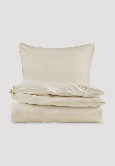 Jersey-Bettwäsche Liam im Set aus reiner Bio-Baumwolle