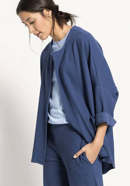 Jersey-Jacke aus Bio-Baumwolle