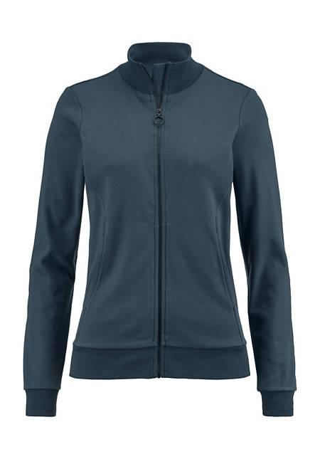 Jersey-Jacke aus Bio-Baumwolle und TENCEL™Modal