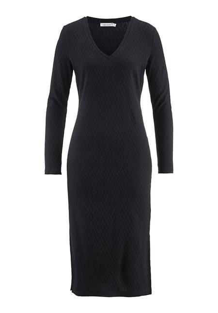 Jersey-Kleid aus Bio-Baumwolle mit Elasthan