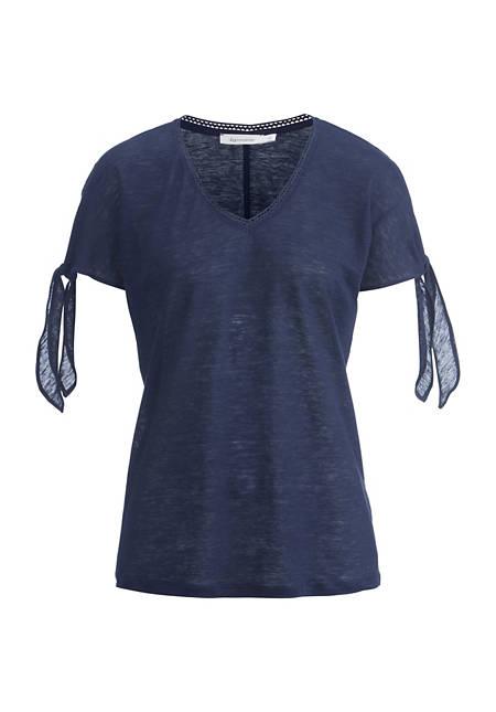 Jersey-Shirt aus reinem Bio-Hanf