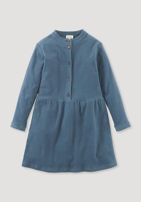 Jersey cord dress made of pure organic cotton