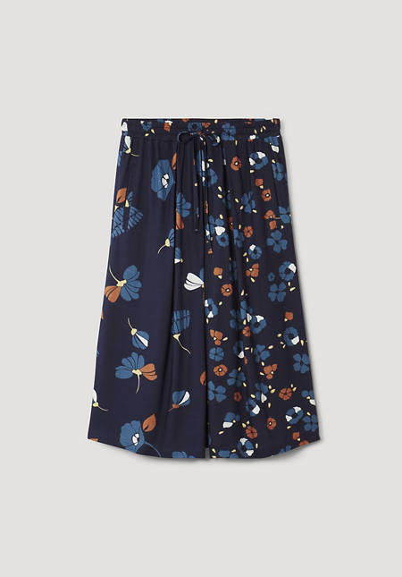 Jersey skirt made from pure organic cotton