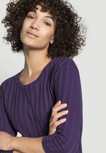 Jerseykleid aus Bio-Baumwolle mit Hanf