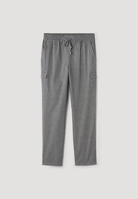 Jogging pants made from pure organic cotton