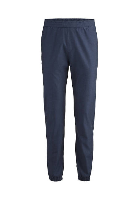 Jogging pants made of organic merino wool with organic cotton