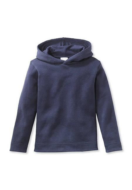 Kapuzen-Sweatshirt aus reiner Bio-Baumwolle