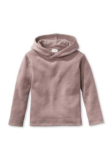 Kapuzen Sweatshirt aus reiner Bio-Baumwolle