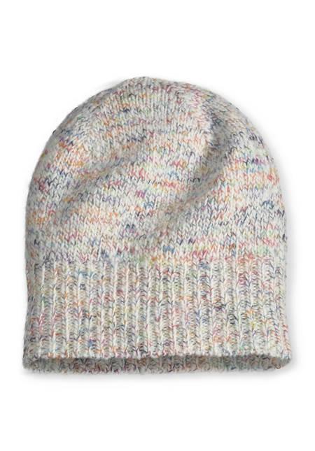 Kinder-Mütze aus Merinowolle mit Baumwolle