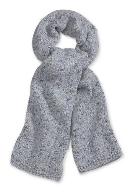 Kinder-Schal aus Merinowolle mit Baumwolle