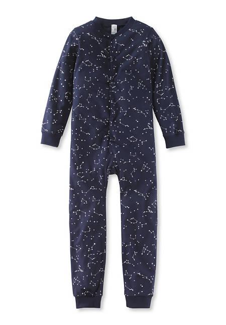 Kinder-Schlafoverall aus reiner Bio-Baumwolle