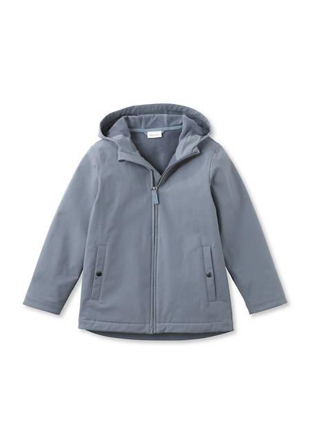 Kinder Softshell Jacke aus Bio-Baumwolle