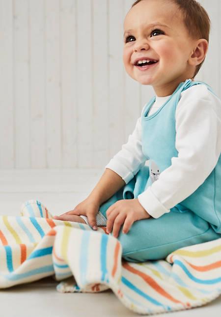 Kinder  und  Baby Decke aus reiner Bio-Baumwolle