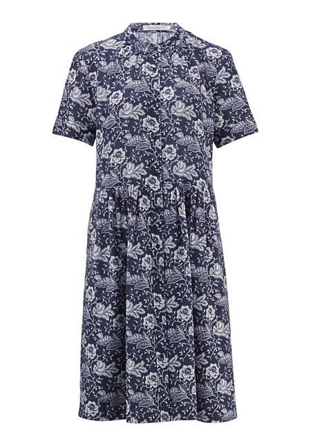 Kleid Alloverprint aus reiner Bio-Baumwolle