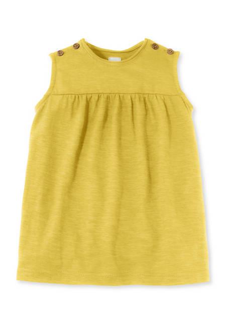 Kleid aus Bio-Baumwolle mit Hanf