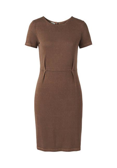 Kleid aus Hanf und Bio-Baumwolle