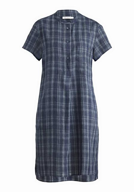 Kleid aus Leinen mit Baumwolle