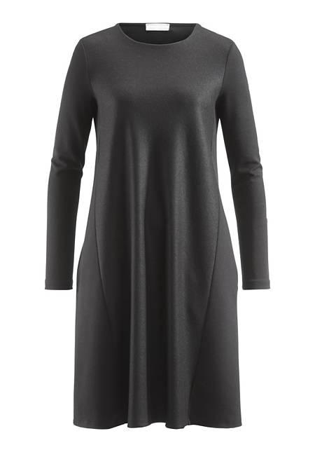 Kleid aus Schurwolle, Bio-Baumwolle und Modal