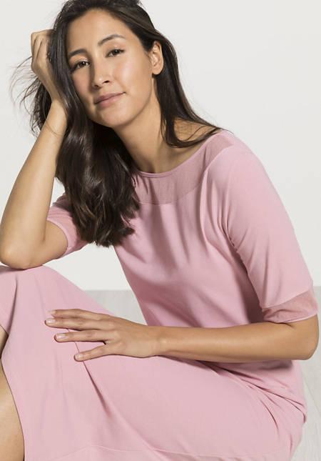 Kurzarm-Nachthemd aus Bio-Baumwolle