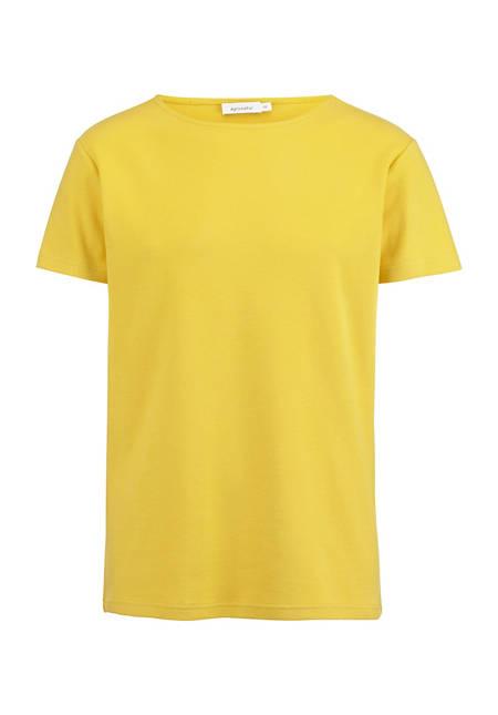 Kurzarm-Shirt aus Bio-Baumwolle mit Kapok