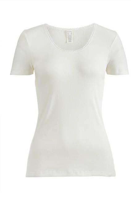 Kurzarmshirt aus Bio-Baumwolle