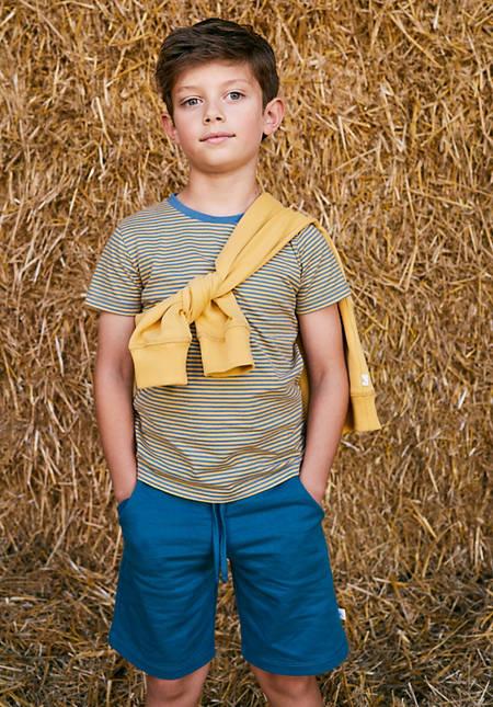 Kurzarmshirt aus reiner Bio-Baumwolle