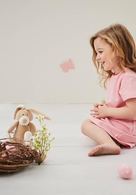 Kuscheltier Hase aus reiner Bio-Baumwolle