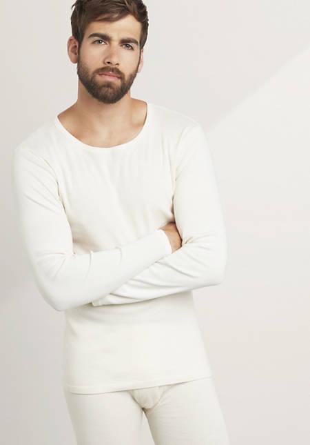 Langarm-Shirt PureNATURE aus reiner Bio-Baumwolle