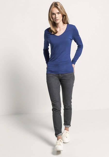 Langarm-Shirt aus TENCEL™Modal