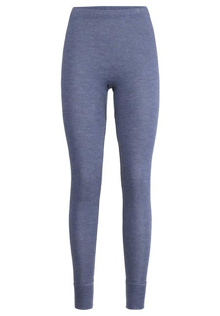 Lange Pants PureMIX aus Bio-Merinowolle mit Seide