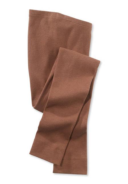 Leggings aus Bio-Baumwolle mit Schurwolle