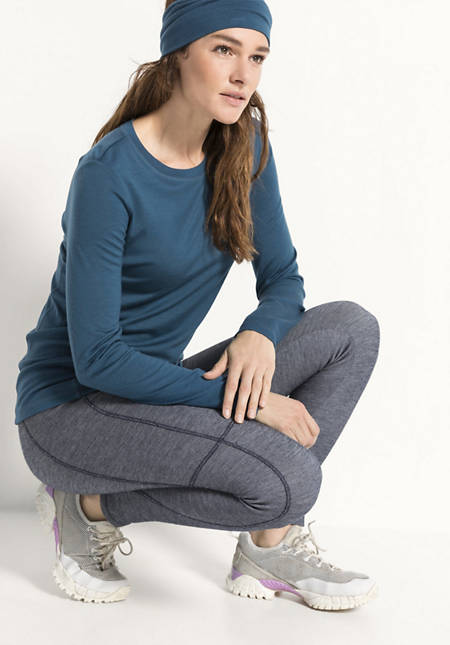 Leggings aus Bio-Merinowolle mit Bio-Baumwolle
