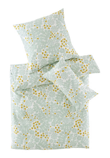 Leila satin bed linen made from pure organic cotton