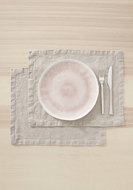 Leinen-Tischset im 2er Set
