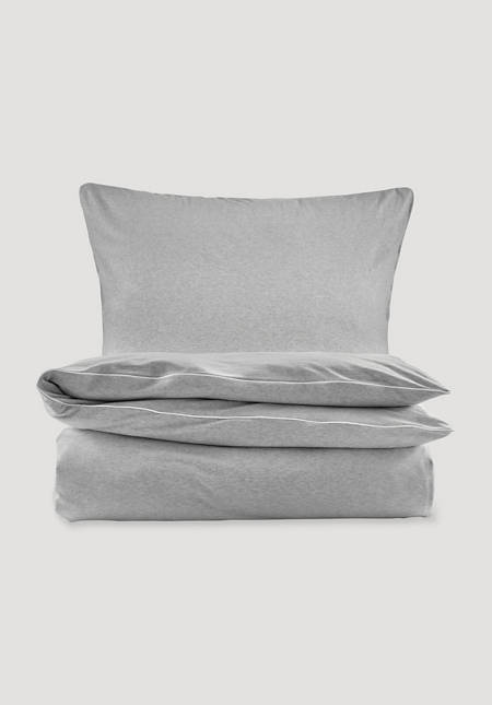 Liam jersey bed linen made from pure organic cotton