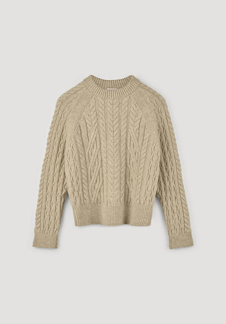 Limited by Nature sweater made of pure Mongolian merino wool