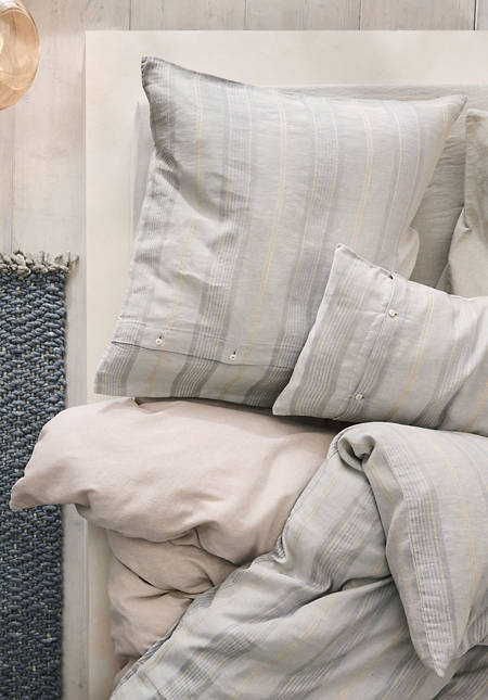 Limoges bed linen made from organic linen with organic cotton