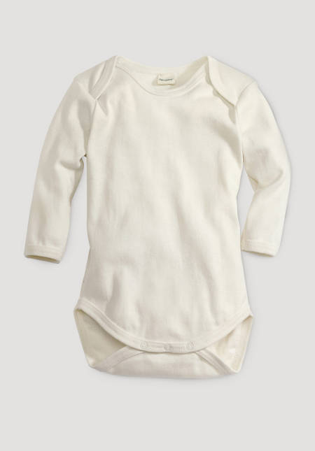 Long-sleeved body made of pure organic cotton