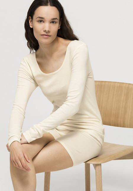 Long-sleeved shirt ModernNATURE made of pure organic cotton