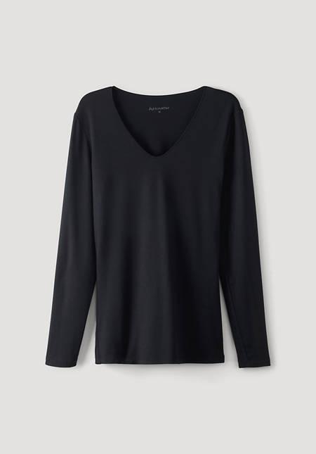 Long-sleeved shirt made of TENCEL ™ Modal