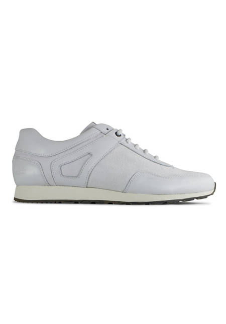 Low Seed Runner / White Leather