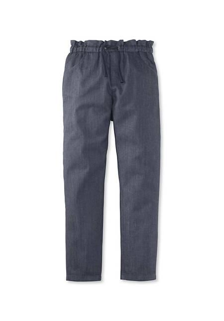 Mädchen-Jeans aus reiner Bio-Baumwolle